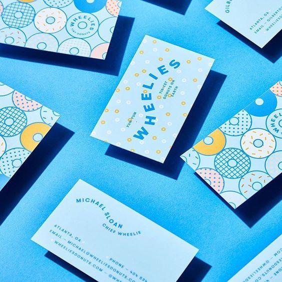 Những mẫu card visit dễ thương năm 2019 cho bạn bỏ túi