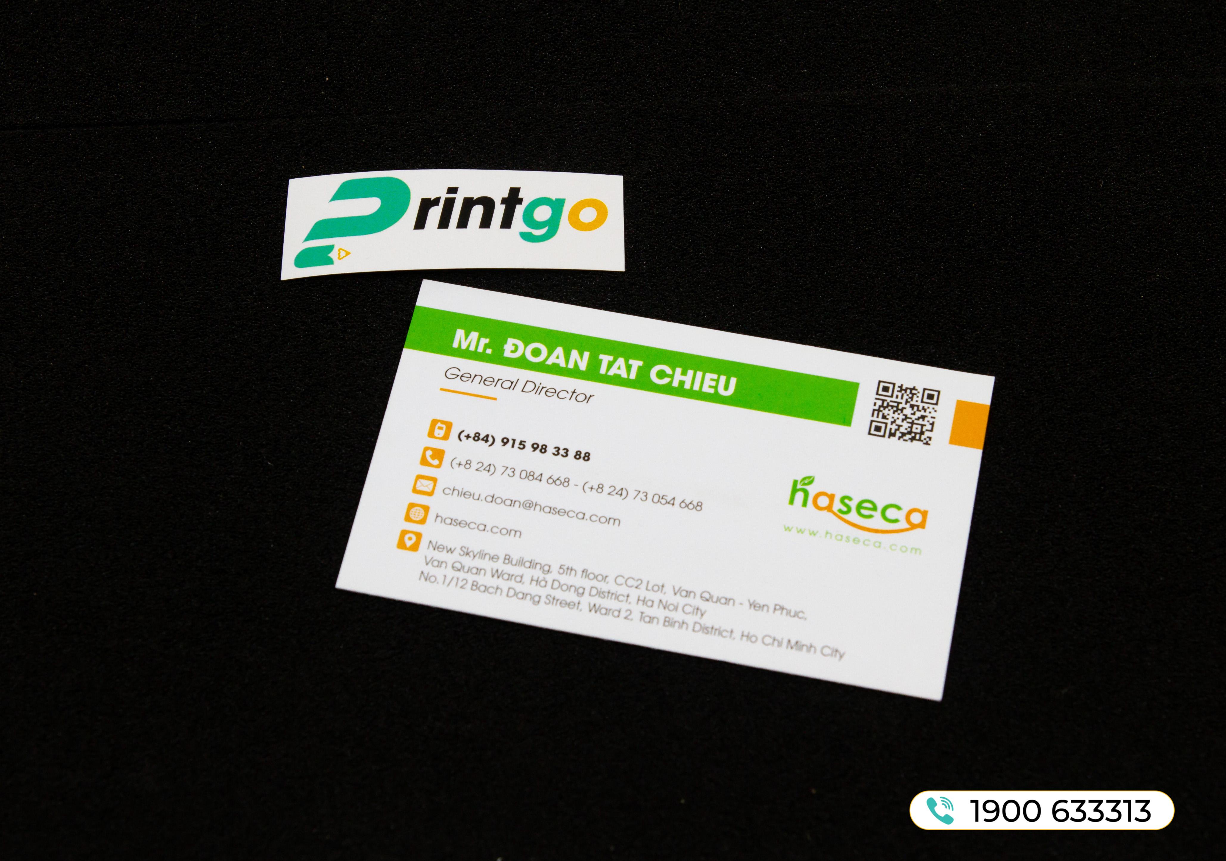 Name card QR
