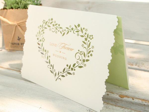 Thiệp cưới mùa thu