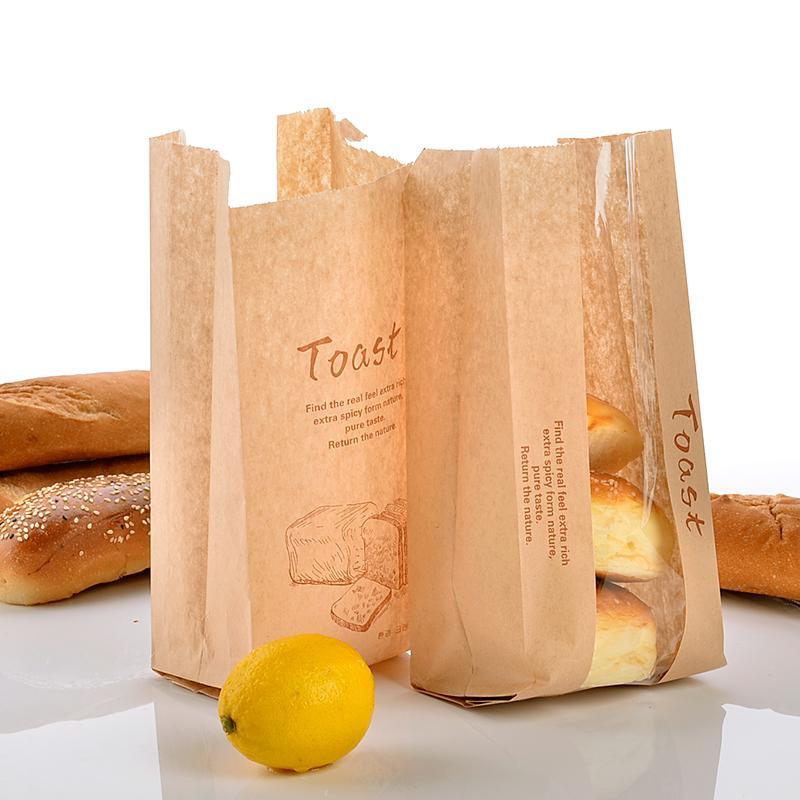 In túi giấy đựng đồ ăn