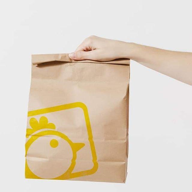 túi giấy đựng gà rán giá