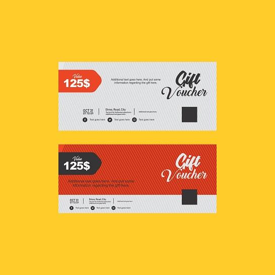 20+ mẫu voucher ấn tượng thu hút