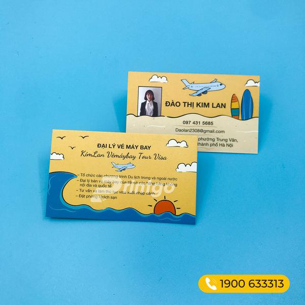 Khuyến mãi siêu HOT: 79K/5 hộp namecard với khách hàng có sẵn file in!