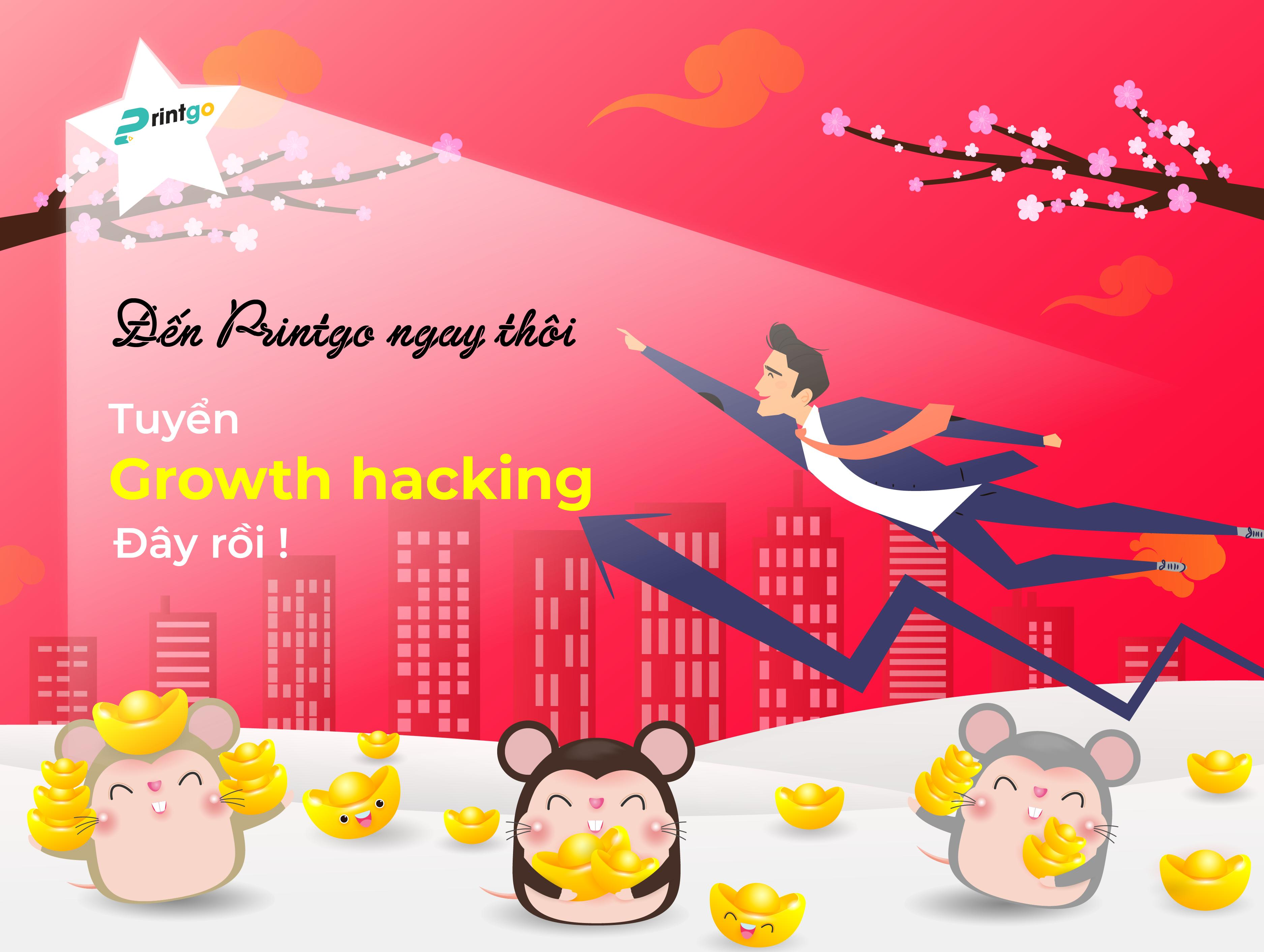 Tuyển dụng Growth hacking