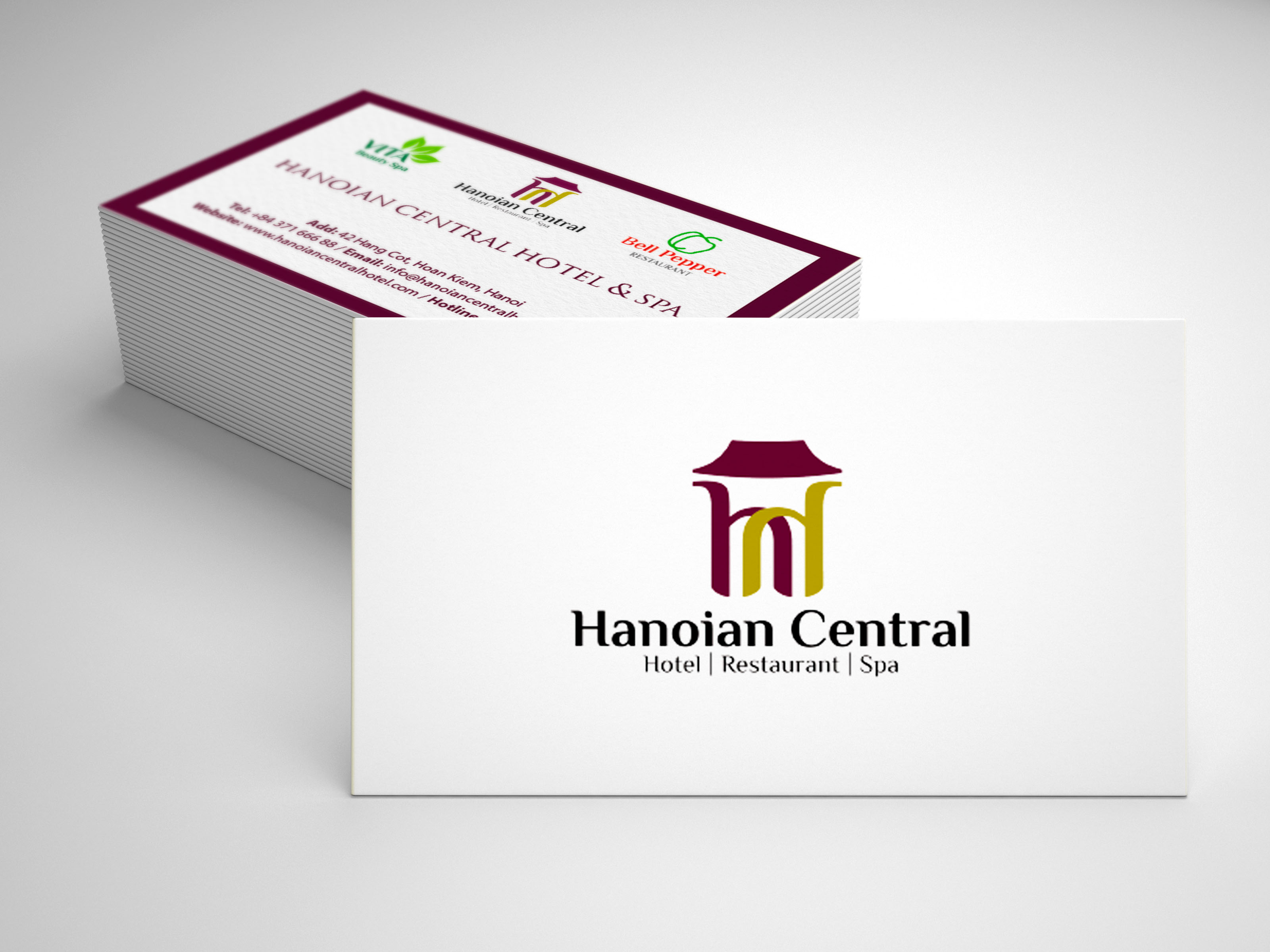 Thiết kế NDTH cho hệ thống khách sạn Hanoian