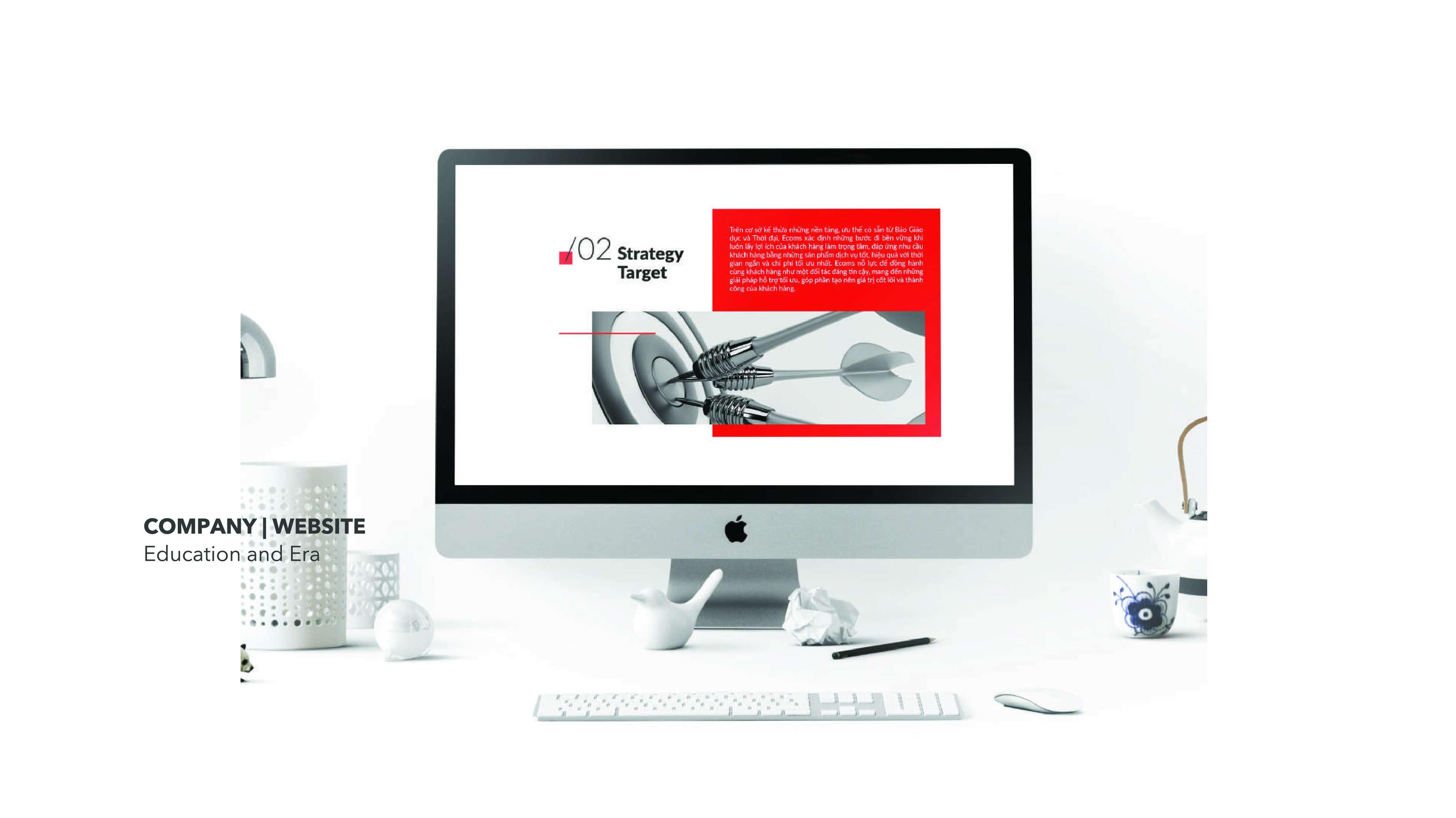 Thiết kế web Giáo dục thời đại