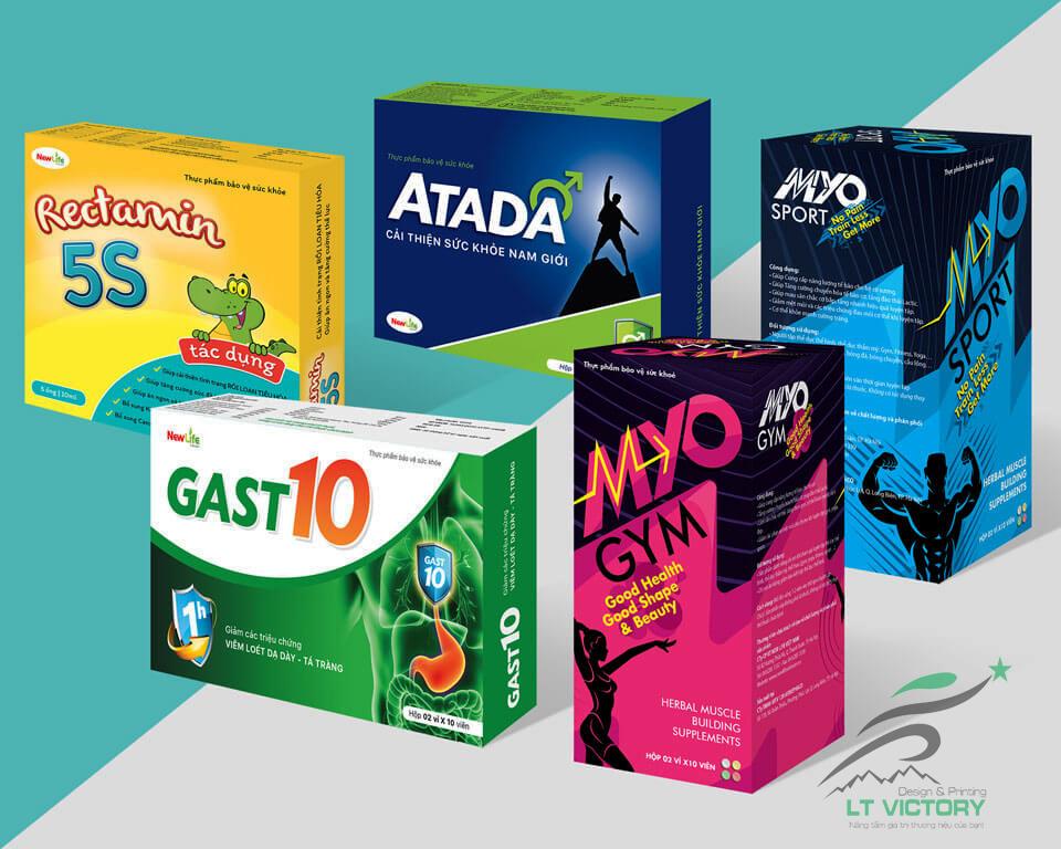Dịch vụ thiết kế bao bì dược phẩm, y tế, bao bì thuốc chuyên nghiệp