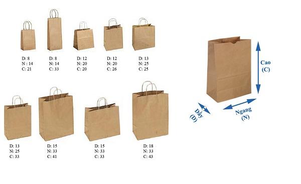 Túi giấy và những vấn đề bạn cần biết