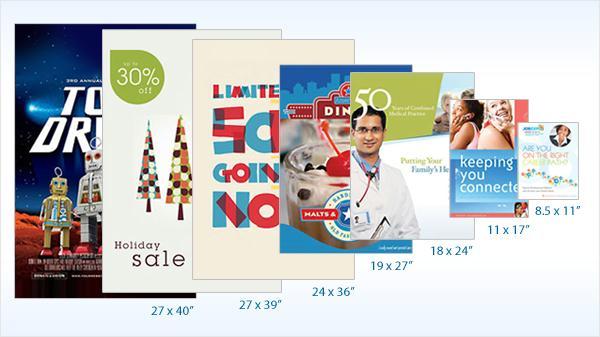 Kích thước Poster chuẩn khi thiết kế và in ấn