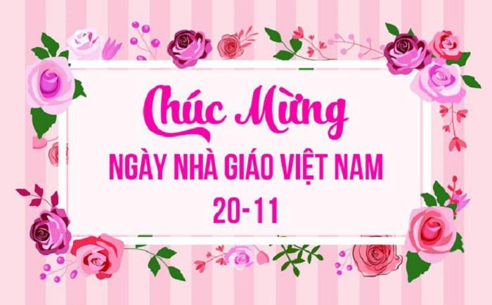 Những lời chúc hay và ý nghĩa gửi tới thầy cô ngày Nhà giáo Việt Nam 20/11