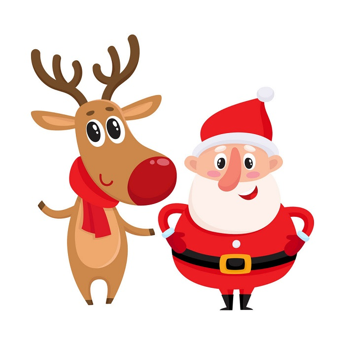 Top 50+ hình ảnh ông già noel cưỡi tuần lộc ấn tượng nhất mùa Giáng sinh