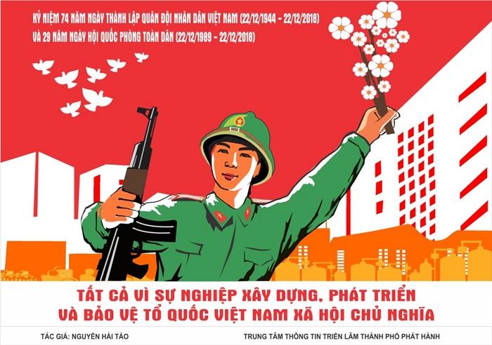 Dowload mẫu backdrop chào mừng ngày thành lập Quân đội Nhân dân Việt Nam