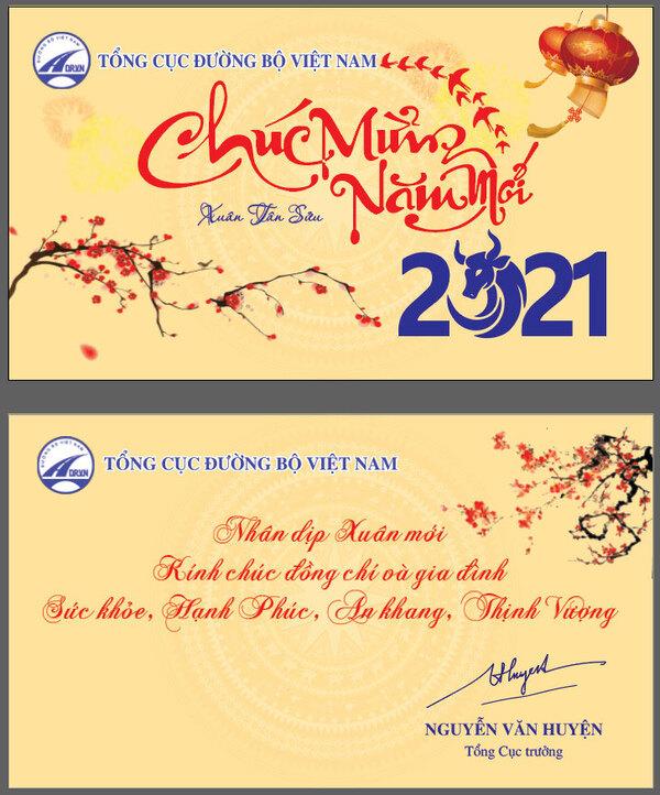 Dịch vụ thiết kế thiệp chúc mừng năm mới 2021 chuyên nghiệp và uy tín toàn quốc