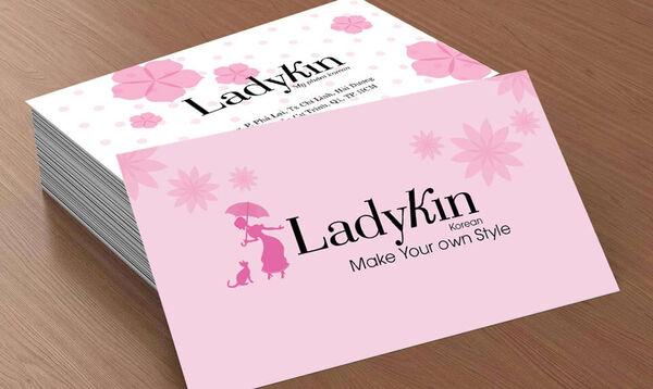 Hướng dẫn thiết kế card visit đẹp file word