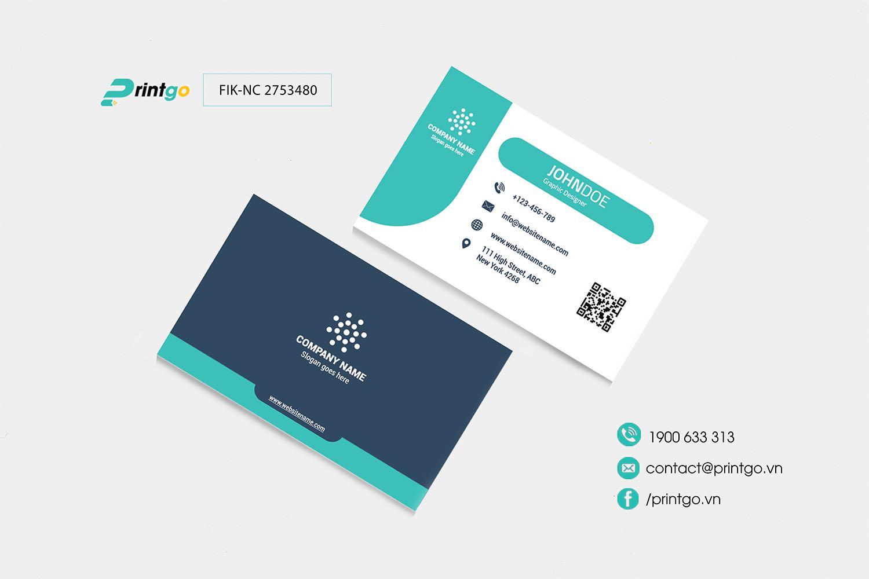 Mẫu name card FIK-NC 2753480