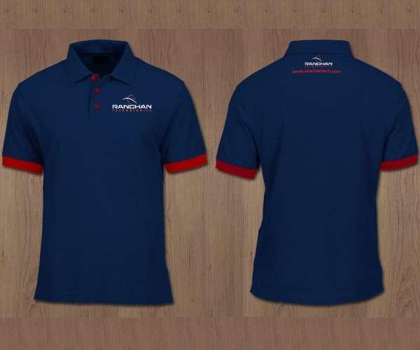 Đồng phục áo phông có tay có cổ MTP-QT 000001