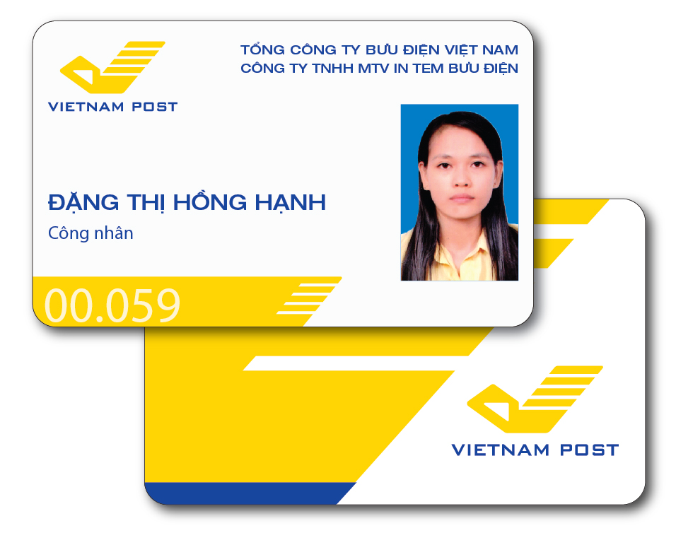 Thẻ nhựa PVC TNP-QT 000001
