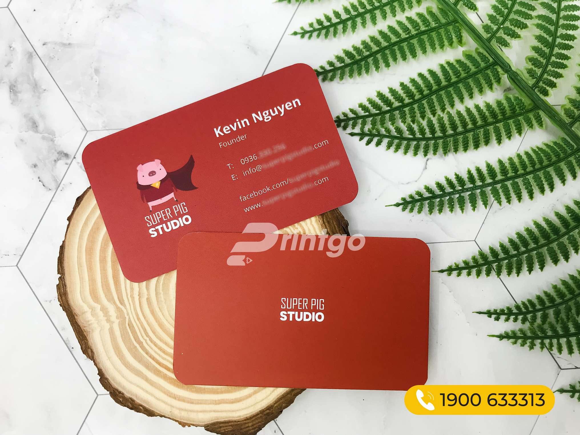 Mẫu name card PG-NC 000006