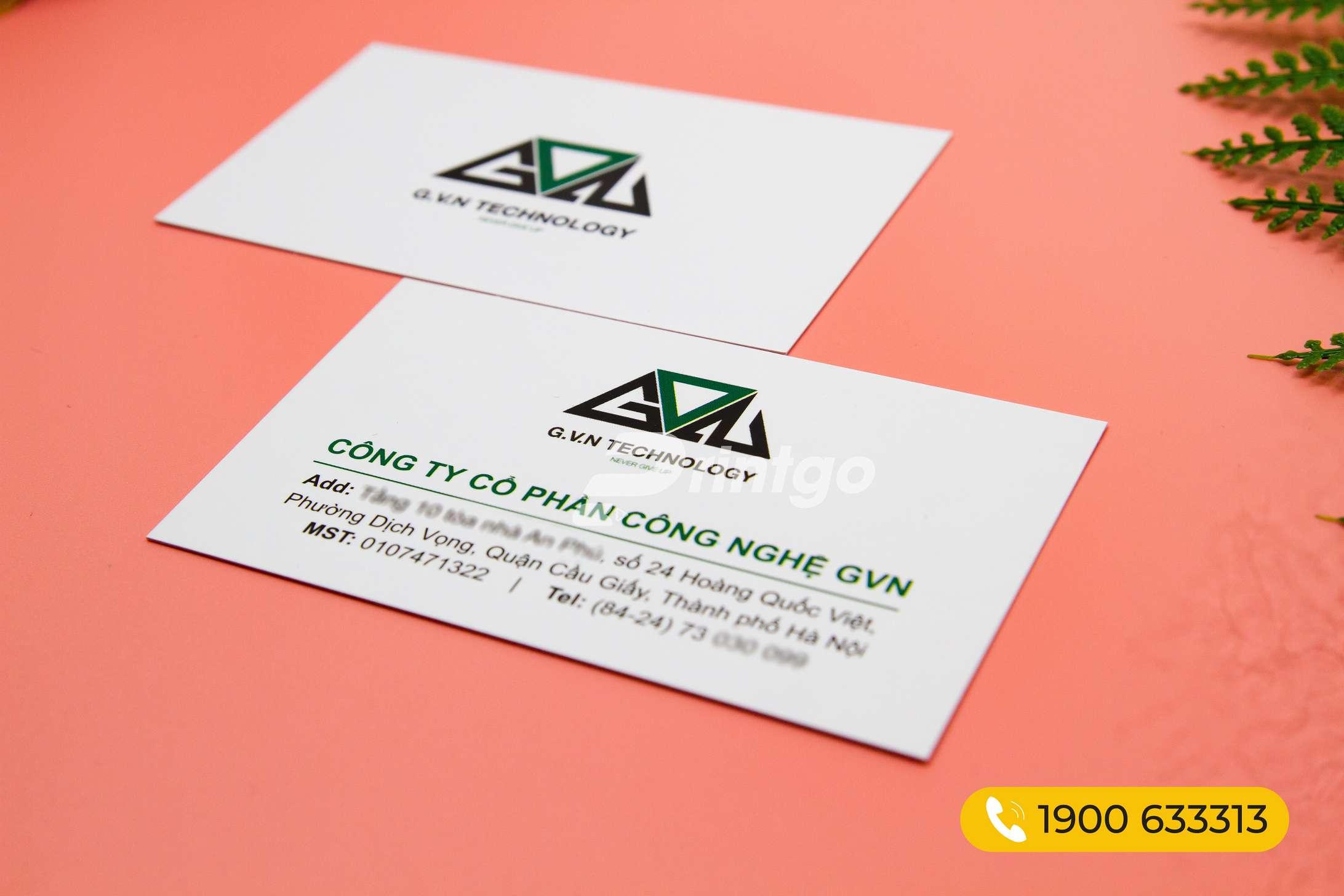 Mẫu name card PG-NC 000005