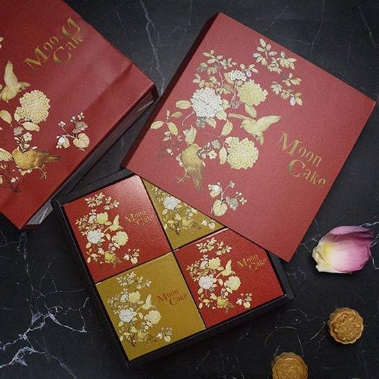 Túi hộp đựng 4 bánh Trung thu NANH-PB 010052