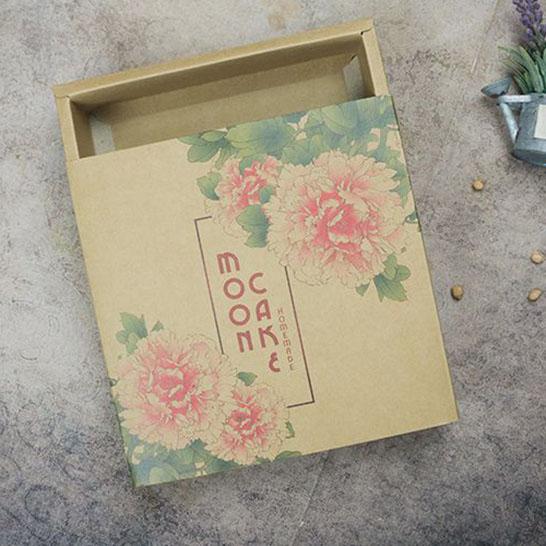Túi hộp đựng 4 bánh Trung thu TLE-PB 010051