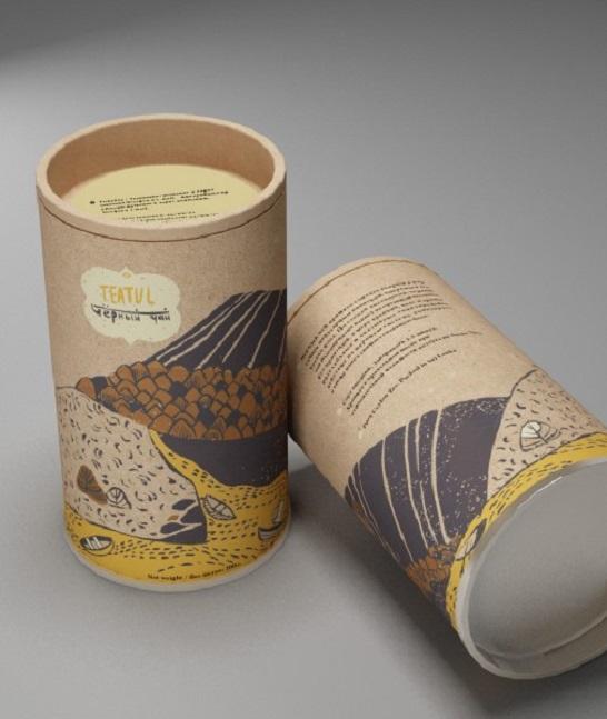 In hộp đựng trà carton cứng