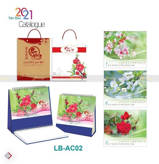 Mẫu lịch để bàn LB-AC02