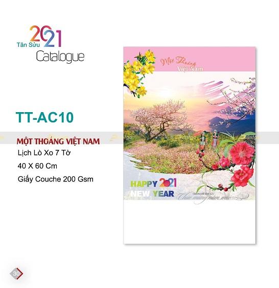Mẫu lịch treo tường 7 tờ TT-AC10