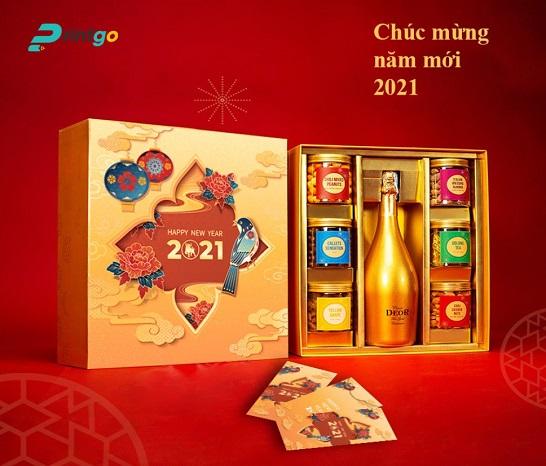 Mẫu hộp quà tết An Khang AK-01
