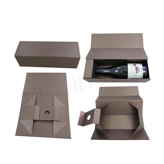 Hộp đựng rượu vang giấy từ tính HDR-02