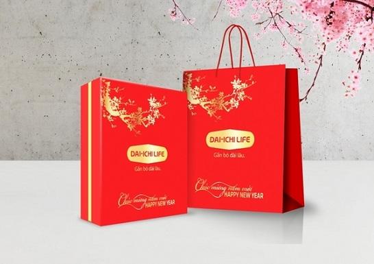 Mẫu túi giấy đựng quà tết doanh nghiệp TQT-03